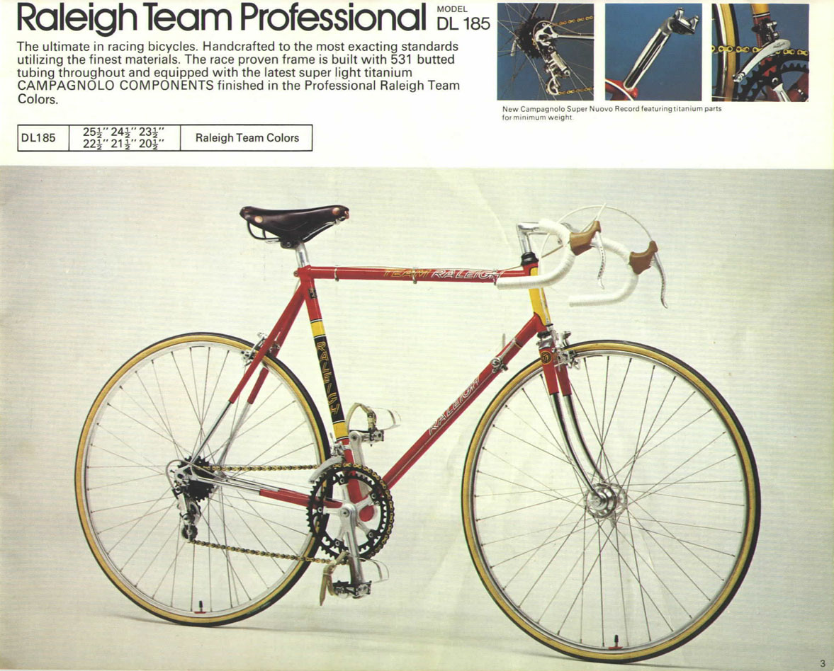 1974 Raleigh Team Pro