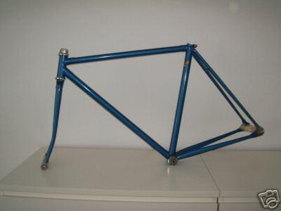 cinelli track 50 cm frame and fork columbus