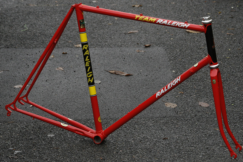 raleigh team replica 531 1984