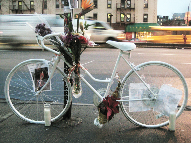 ghostbike NYC