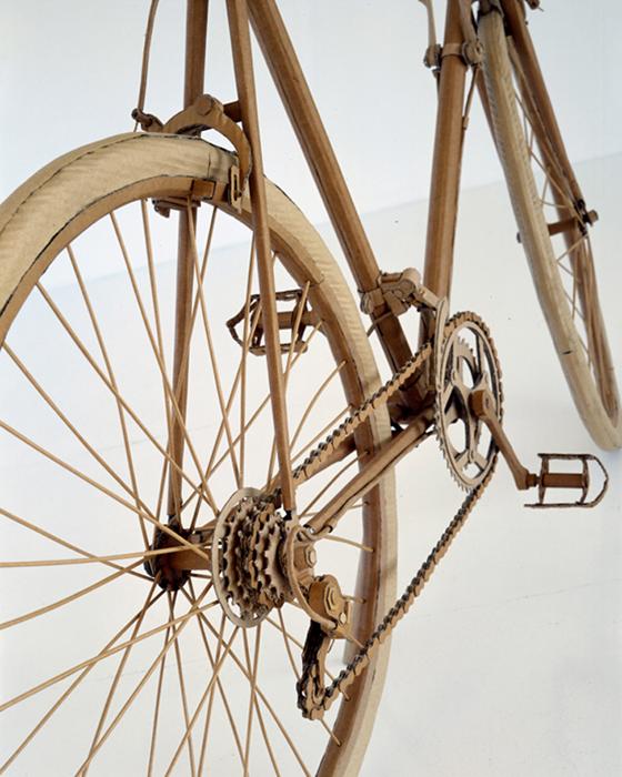 cardbord-gilmour-bikes-pappe-art