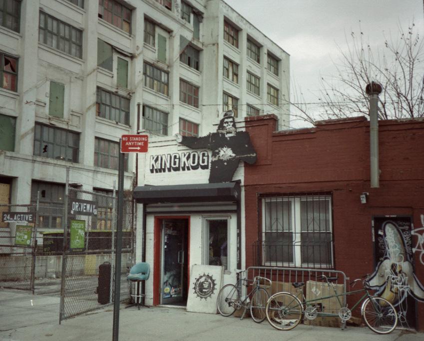 kingkog. smallest shop ever…