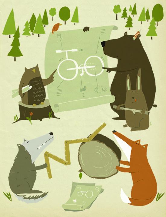 illustration_Bike_kathrin-wiehle_radpropaganda