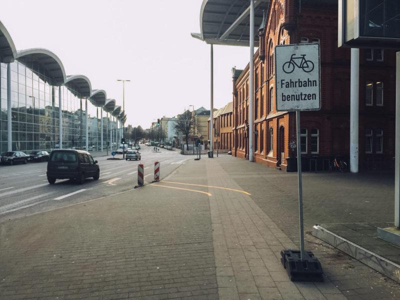Fahrradstadt hamburg, Messehallen