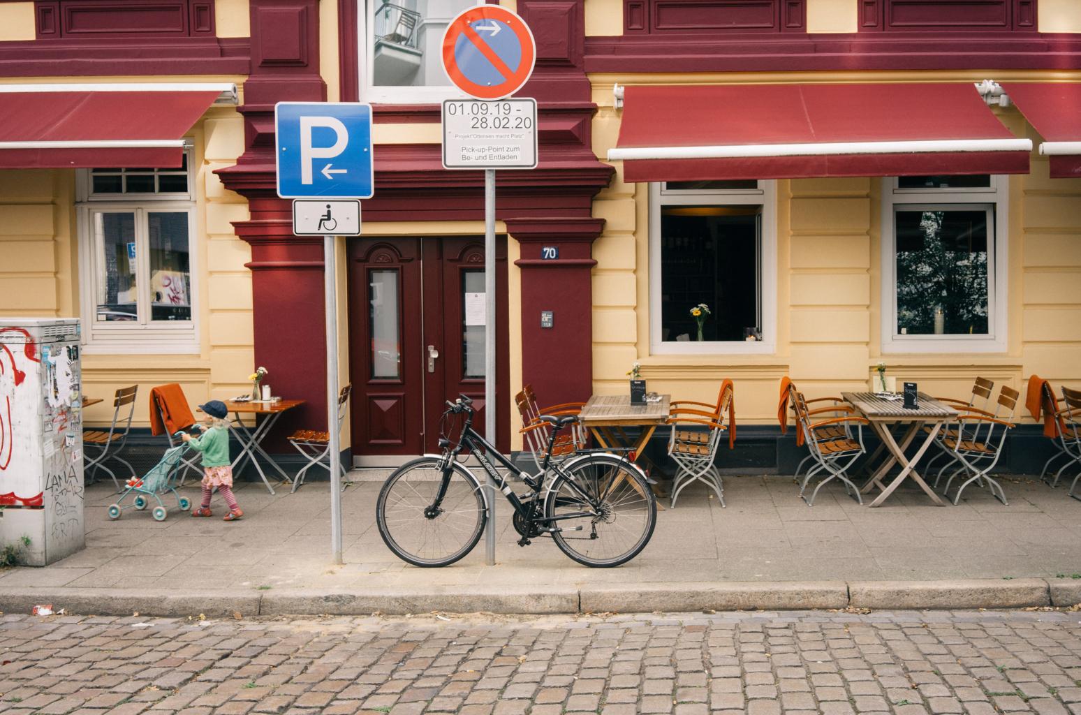 Pick-Up Point zum Be-Entladen in der Rothestraße